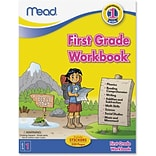 Mead First Grade Comprehensive Workbook Education for Science/Mathematics/Social Studies, 320 Pages