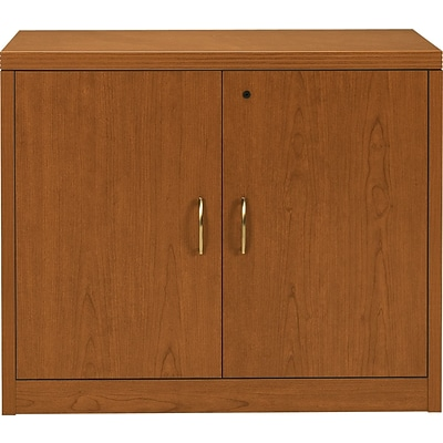 HON® 11500 Series Valido™ Office Collection in Bourbon Cherry, Storage Cabinet with Doors