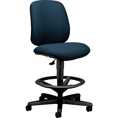 HON® 7700 Series Swivel Task Stool; Blue