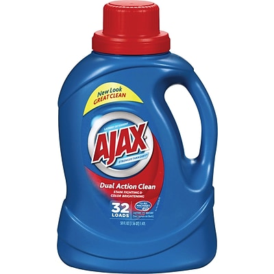 Ajax® 2x Ultra HE Liquid Laundry Detergent, Original Scent, 50 oz.
