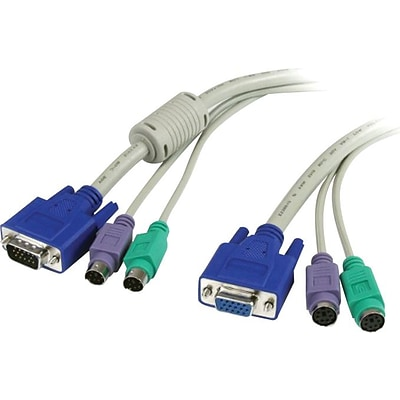 Startech PC99 3-in-1 KVM Extension Cable; 6(L)