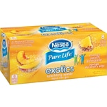 Nestle® Pure Life Exotics Sparkling Water, Mango Peach Pineapple, 12-oz Can, 8/Pack, 3 Packs/Carton