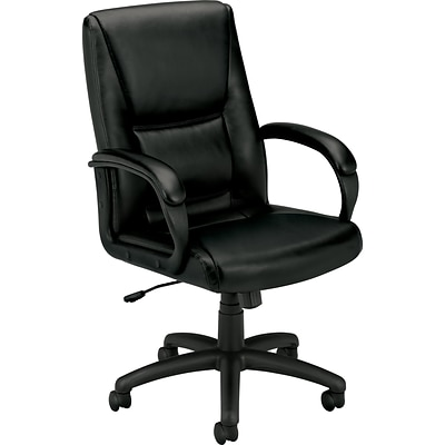 basyx® by HON Leather Executive Manager Chairs; VL160 Series