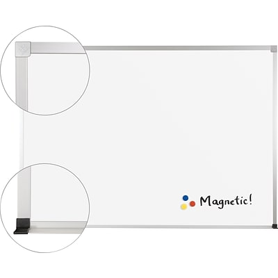 Best-Rite® ABC Porcelain Marker Boards, 18x24