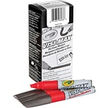 Crayola Visi-Max Dry Erase Markers Red