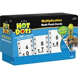 Hot Dots Flash Cards, Multiplication Facts 0-9, Accessory For Kids Reading System