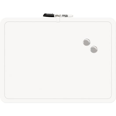 The Board Dudes Plastic Frame Magnetic Dry-erase Board, 23W x 17H