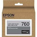 Epson T760920 (t760) Ultrachrome HD Ink, 25.9 Ml, Light Light Black