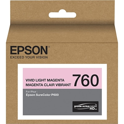 T760620 (t760) Ultrachrome Hd Ink, 25.9 Ml, Vivid Light Magenta