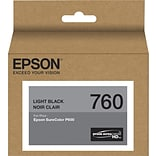 Epson T760720 (t760) Ultrachrome HD Ink, 25.9 Ml, Light Black