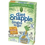Snapple® Diet, Green Tea, 6/Box