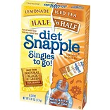 Snapple® Diet, Half n Half Lemonade/Iced Tea, 6/Box