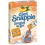 Snapple® Diet, Peach, 6/Box