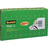 Scotch Magic Tape Clear .75x900 1 Core