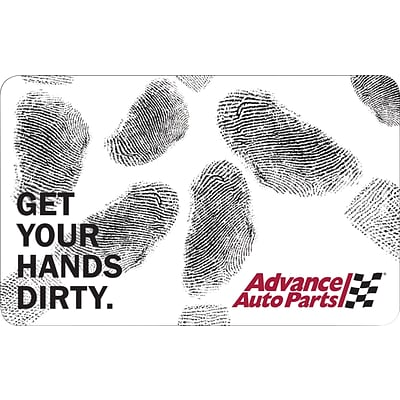 Advance Auto Parts $25 Gift Card (68573B2500)