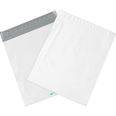 Expansion Poly Mailers, White, 20 x 24 x 4, 100/Case