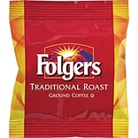 Folgers® Traditional Roast Ground Coffee Fraction Packs, Medium Roast, 2 oz. Packs, 42/Carton (63006