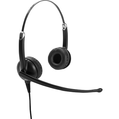 VXi Envoy 3031U USB Noise-Canceling Stereo Headset for Unified Communications