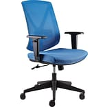 Quill Brand® Bonley Mesh Chair, Blue