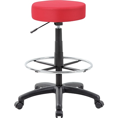 Boss® The Dot Drafting Stool; Red