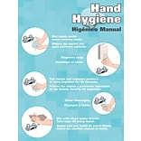 ACCUFORM SIGNS® Safety Poster, HAND HYGIENE, 12 x 9, Laminated Flexible Plastic, Each