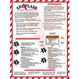 ACCUFORM SIGNS® Safety Poster, ARC FLASH PROTECTION, 24 x 18, Laminated Flexible Plastic, Each