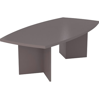 Bestar® Conference Table in Slate; Boat Shaped