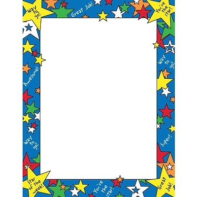 Great Papers Star of the Week Letterhead, 80/Pack
