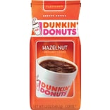 Dunkin Donuts® Hazelnut Ground Coffee, Medium Roast, 12 oz. Bag (SMU00049)