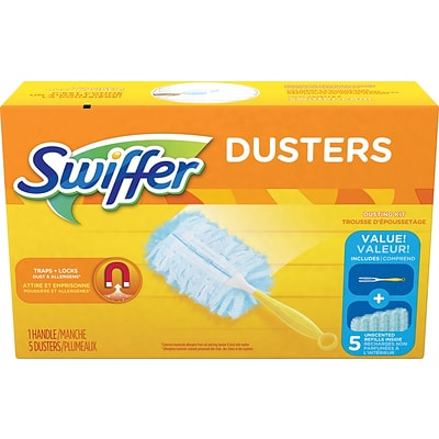 Swiffer® Dusters Kit, 5 Cloths/Box