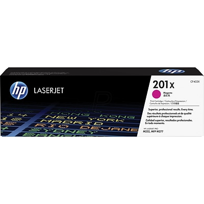 HP 201X Magenta High Yield Original Laserjet Toner (CF403X) Cartridge