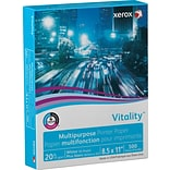 "Xerox® Vitality™ Multipurpose Printer Paper by the Pallet, 20 lb., 8 1/2"" x 11"", 6-10 Pallets"