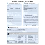 Medical Arts Press® Dental Registration Forms Featuring Updates Section; Sky Blue, Spanish