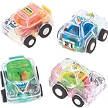 SmileMakers® Clear Pullback Cars; 36 PCS
