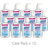 Purell® Advanced Instant Hand Sanitizer; 8oz, 12/CT