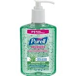 Purell® Instant Hand Sanitizer with Aloe, 8 oz.