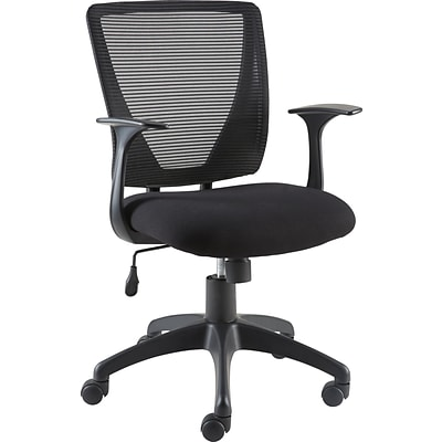 Quill Brand® Vexa Mesh Chair, Black