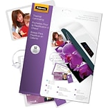 Fellowes® Laminating Pouch Kit, 3 mil, Size: Assorted sizes, 52/Pack