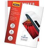 Fellowes® Letter Size Laminating Pouch, 5 mil, 11H x 8-1/2W, 150/Pack