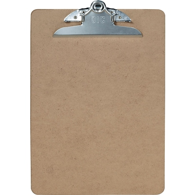Officemate Hardboard Clipboard, Brown (83500)