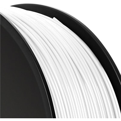 ABS 1.75mm Filament for MakerBot 3D Printer MP019, White, 1kg