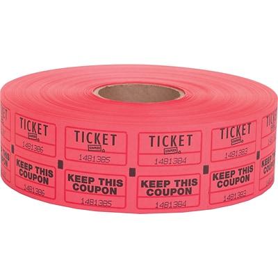 mmf industries double raffle ticket rolls quill com