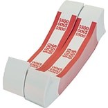 MMF Industries® Red/$500 Currency Bands