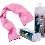 Chill-Its Pink Cooling Towels, 6/Ct.