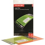 HeatSeal 3Mil Clr Legal Laminate Pouch 25Pk