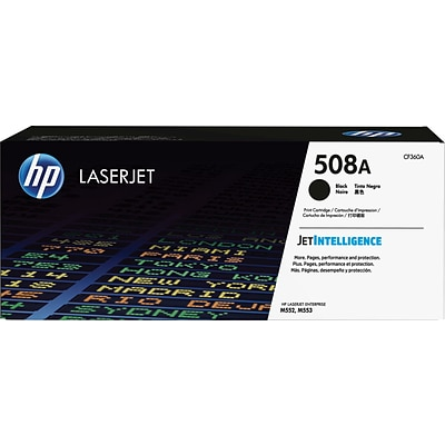 HP 508A Original LaserJet Toner Cartridge Black (CF360A)