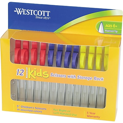 Westcott® Kleencut®  Kids 5 Pointed Scissors, 12/Pack