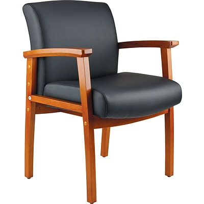 Quill Brand® Ellsbury Wood Guest Chair