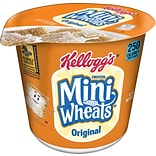 Kelloggs® Frosted Mini Wheats®, Breakfast Cereal, 2.5 oz. Cups, 6 Cups/Box