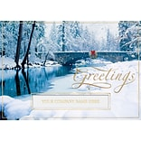 Holiday Expressions® Holiday Cards; Blissfully Bridged, Gummed Envelopes
